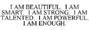 Prettie Girl i am beautiful qoute